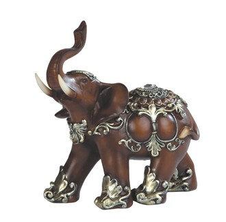 """6"""", Decorative Wooden Thai Elephant"""