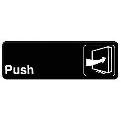 """9"""" X 3"""" , Push"""