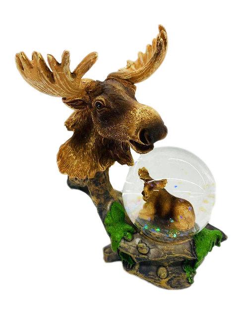 Moose W/ Ball Decor