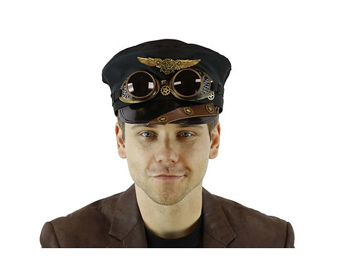 Police Hat With Goggle