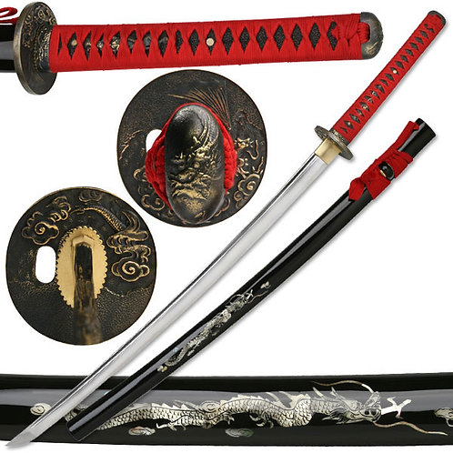 41'' Overall Hand Forged Samurai Sword