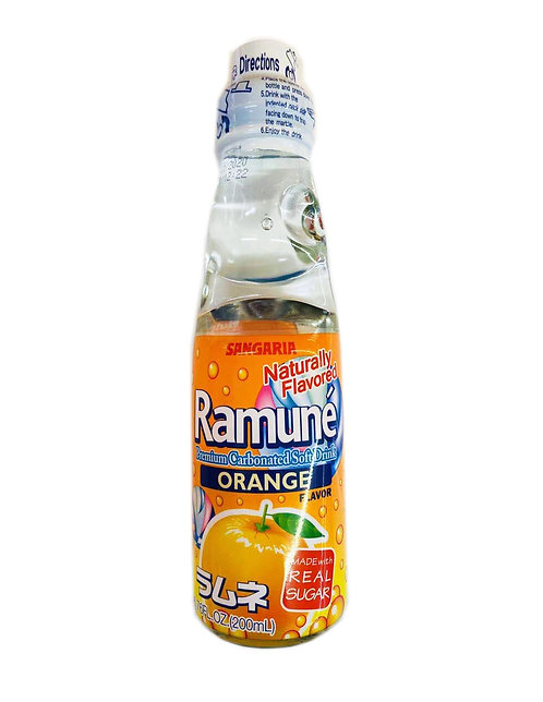 6.76fl.oz Ramune Orange Flavor