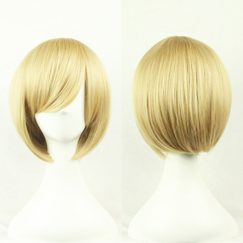 Sand Straight Wig Synthetic Short