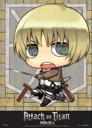 Attack on Titan SD Armin Wall Scroll