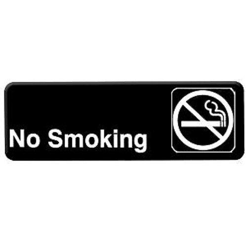 """9"""" X 3"""" , No Smoking"""