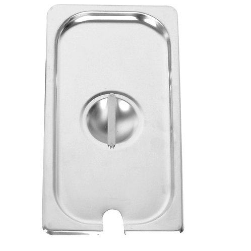 Half Size Slotted Cover For Steam Pans