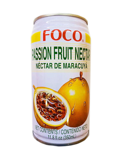 11.8oz FOCO Passion Fruit Nectar