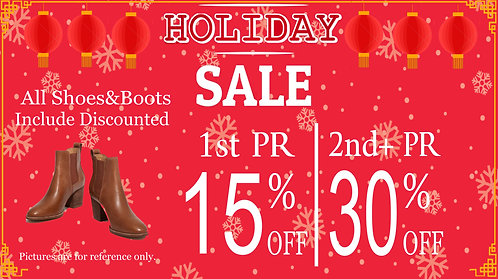 Close out for Shoes and Boots