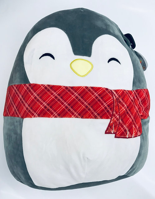 "12"" Squish Mallow Christmas Penguin"