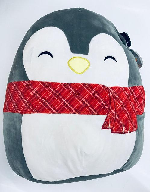 "16"" Squish Mallow Christmas Penguin"
