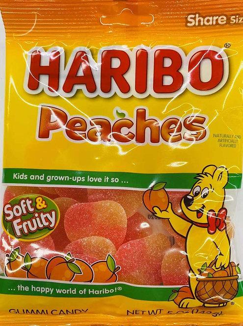 5oz Haribo Peaches Gummy