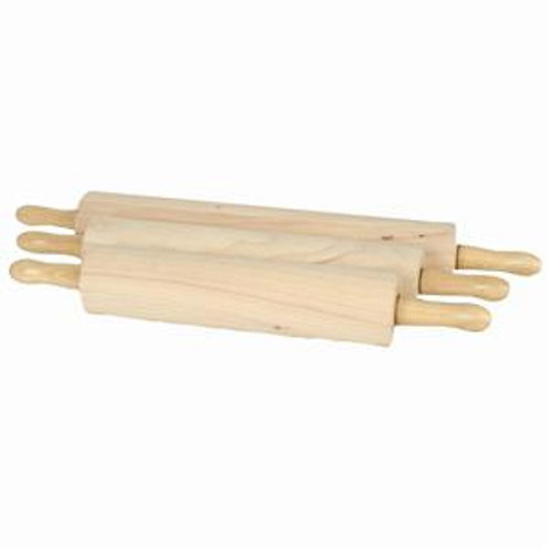 """15"""", 3 1/4"""" Dia Wooden Rolling Pin"""