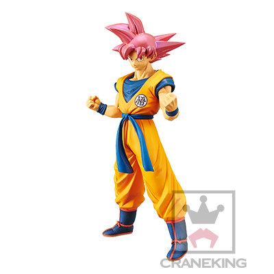 22cm Dragon Ball Movie Super Ultimate Fighter - Super Saiyan God Son Goku Figure