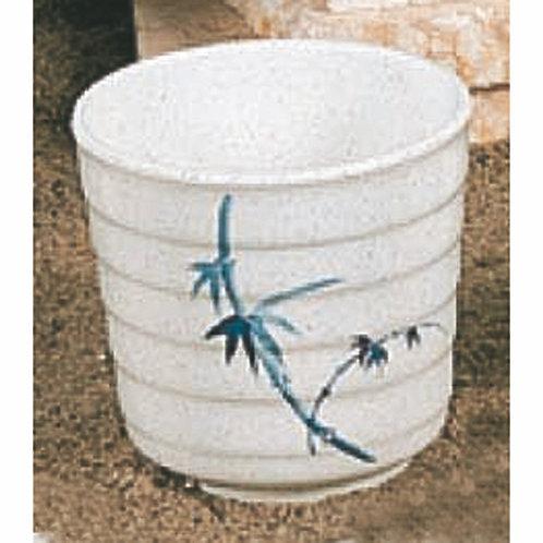 "11 OZ, 3 1/2"" Tea Cup, Blue Bamboo"