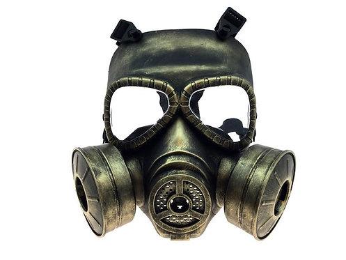 Steampunk Gas Mask Gold
