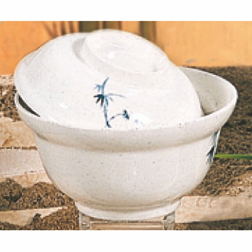"""20oz, 5 3/4"""", Bowl, Blue Bamboo (Lid Sold Separately)"""