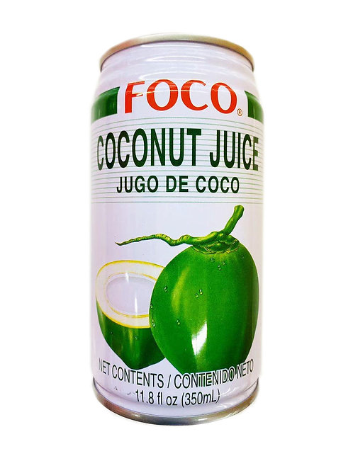 11.8oz FOCO Coconut Juice