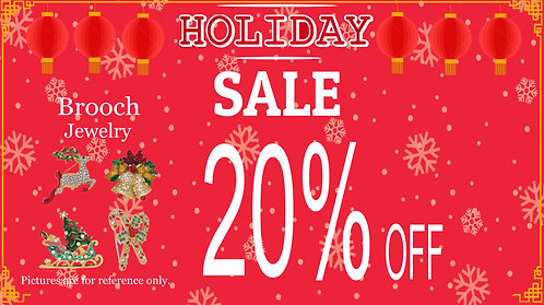 20% Off For Brooch