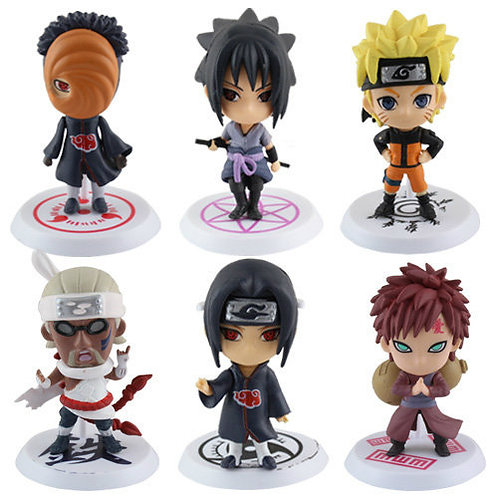 "2.5"" Naruto Shippuden Cute Figure"