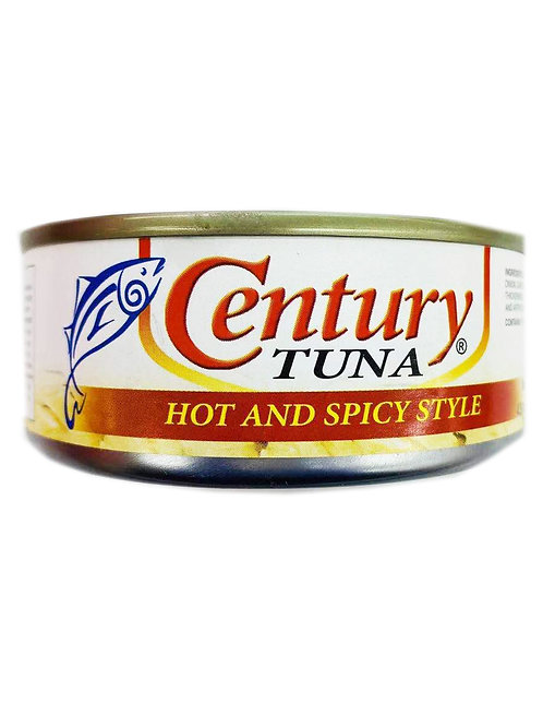 4.9oz Century Tuna Hot & Spicy Style