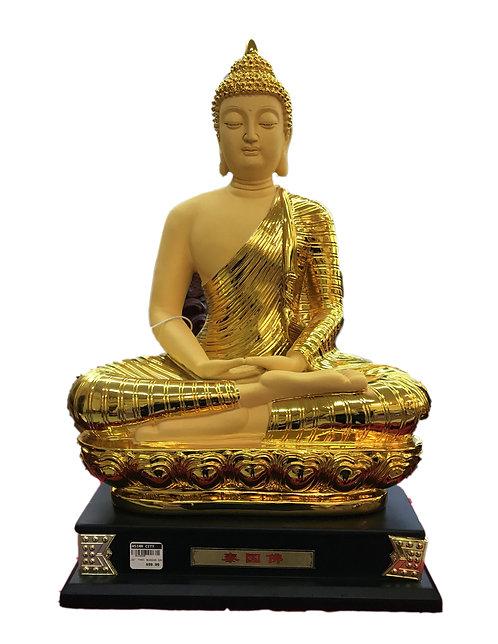 """22"""" Golden Color Thai Buddha"""