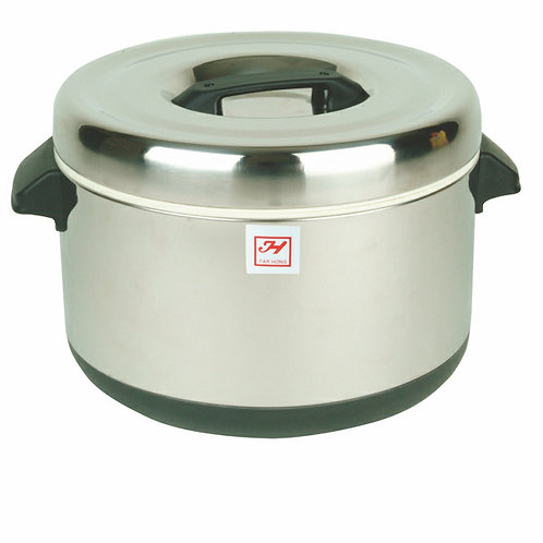 Insulated Sushi Pot, Stainless Steel, 60cups