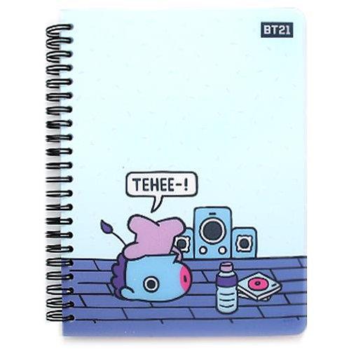 BT21 PP Cover Notebook - Mang