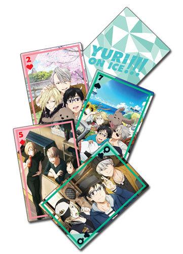 Yuri On Ice Magazine Group Playing Cards