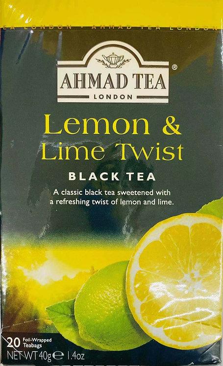 1.4oz Lemon and Lime Twist Black Tea