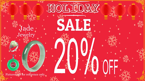 20% Off For Jade Jewelry