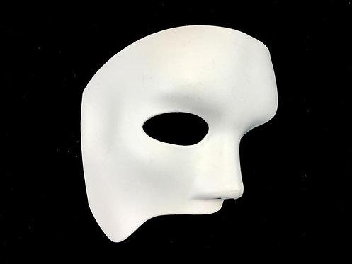 White Plastic Venetian Mask