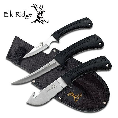 3 Piece Set Hunting Knife