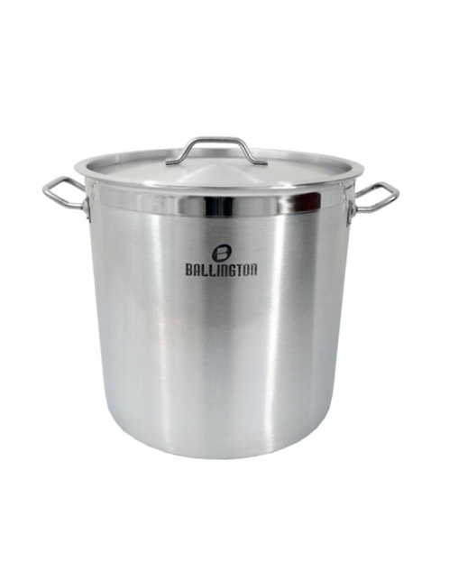 35QT Heavy Duty Stainless Steel Stockpots