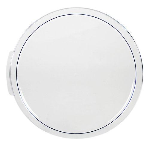 22, 18, 12QT Clear Round Cover