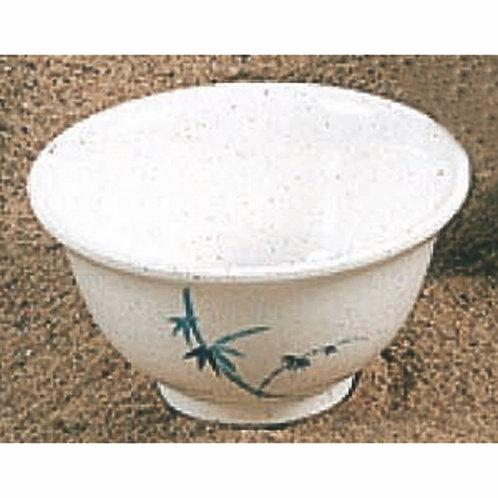 "4"" Blue Bamboo Bowl"