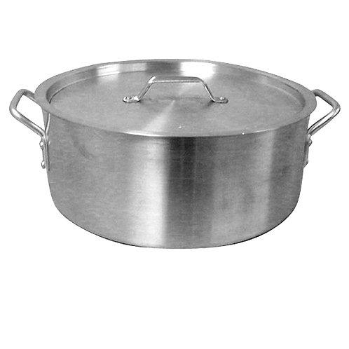 24QT Aluminum Brazer Pot W/ Lid