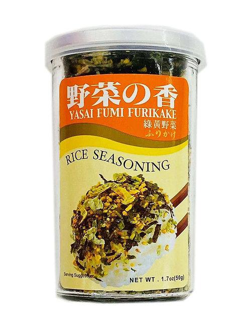1.7oz Furikake Rice Seasoning Yasai Fumi