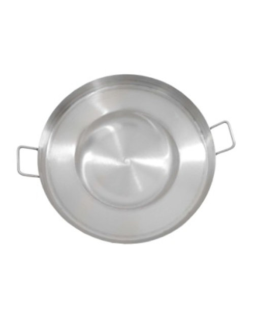"""16"""" Stainless Steel Comal/Cazos Concave"""