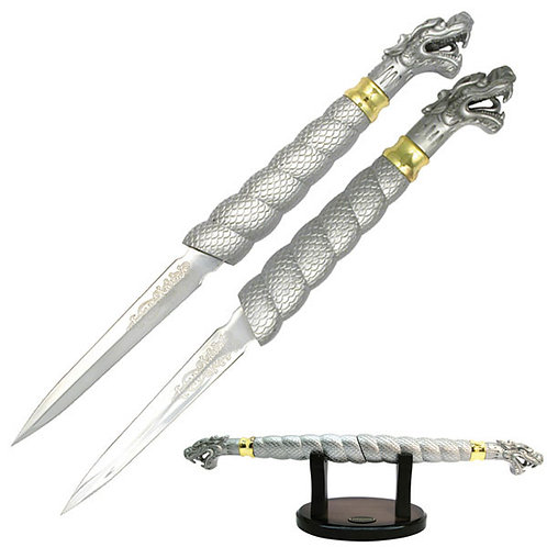 "19.5"" Overall Fantasy Dragon Knife"