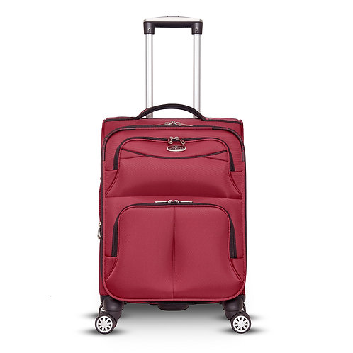 "20"", 4, Wheel Luggage Red"