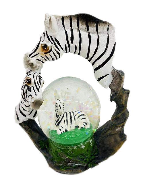 Zebra W/ Ball Decor