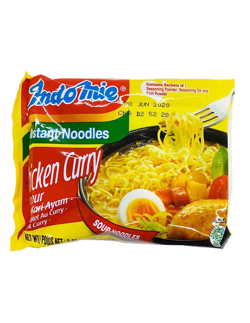 2.82oz Indomie Chicken Curry Noodle