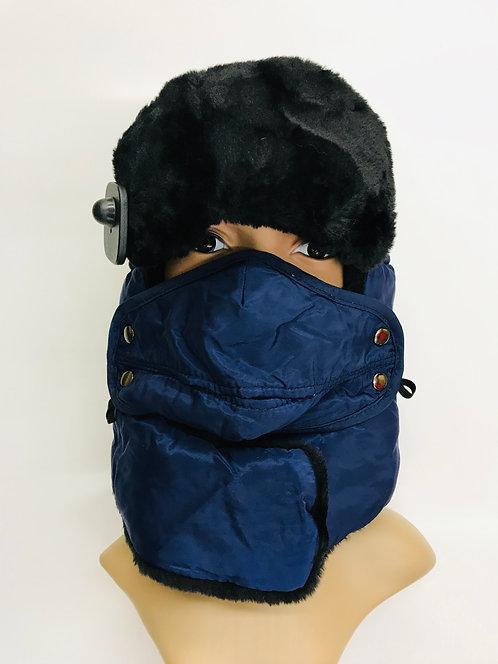 Winter Snow Hat Fabric Style
