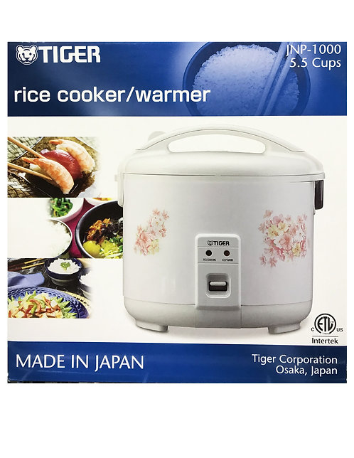 Tiger 5.5 Cups Rice Cooker&Warmer Flower