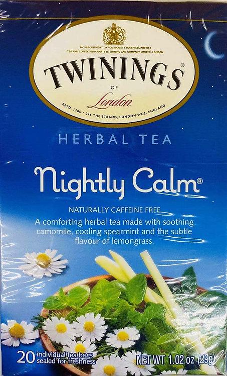1.02oz Twinings Nightly Calm Tea
