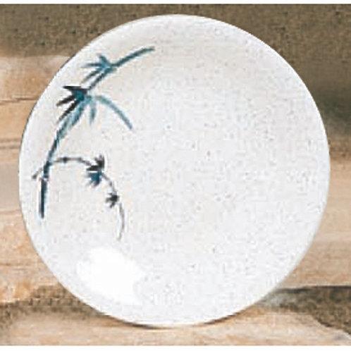 Dinner Plate, Blue Bamboo
