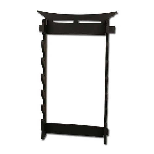 6 Tiers Wall Mount Sword Stand