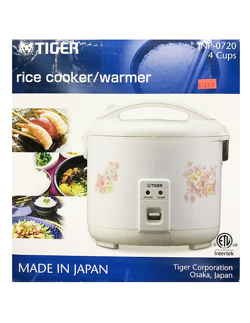 Tiger 4 Cups Rice Cooker&Warmer Flower