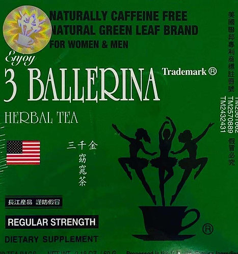 2.18oz 3 Ballerina Dietary Tea