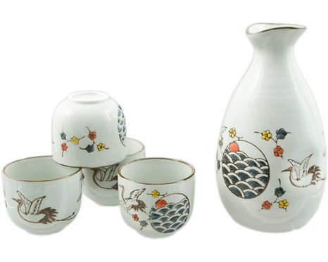 Bird Sake Set